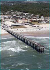 Fishing pier for St augustine fishing pier